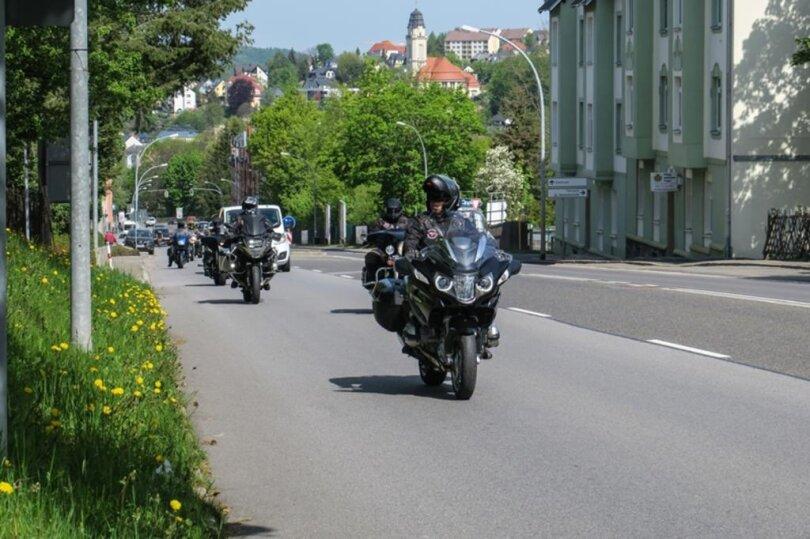 """<p>Diana Irmisch stand den """"Nachtwölfen"""", einem russischen Motorradclub nahe, war mit ihnen oft in Russland und Polen unterwegs.</p>"""