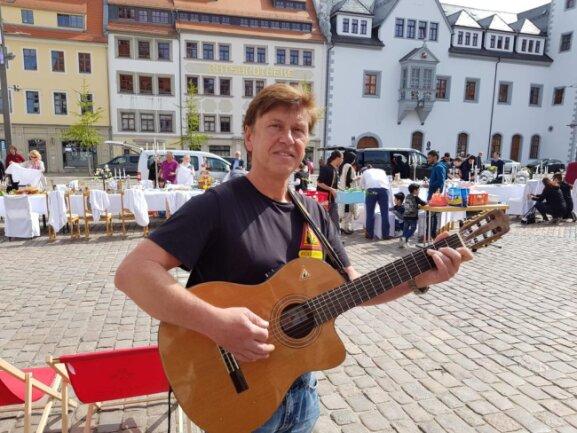 <p>Rollsplit aus Lichtenberg sorgte mit Musik für Unterhaltung.</p>