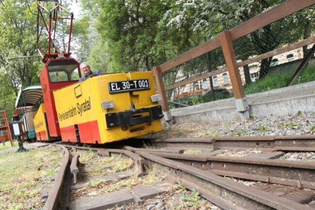<p>Die Parkeisenbahn in Plauen startete verspätet in die Saison.&nbsp;</p>