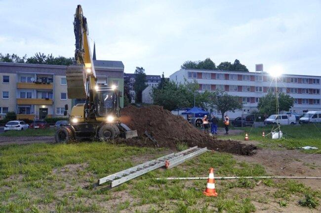 <p>Ab 22. Juni soll hier der Bau einer Grundschule beginnen.</p>