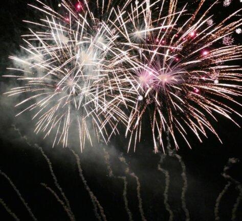 """<p>""""Wir wollten einfach etwas Lebensfreude verbreiten"""", erklärt der 26-jährige Grünhainichener, warum er Feuerwerk-Fans zu dieser Aktion aufgerufen hatte. Vertreter aus mehreren Orten Sachsens folgten der Einladung.</p>"""