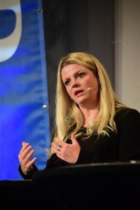 <p>Linken-Kandidatin Susanne Schaper will die Innenstadtentwicklung zur Chefsache machen.</p>