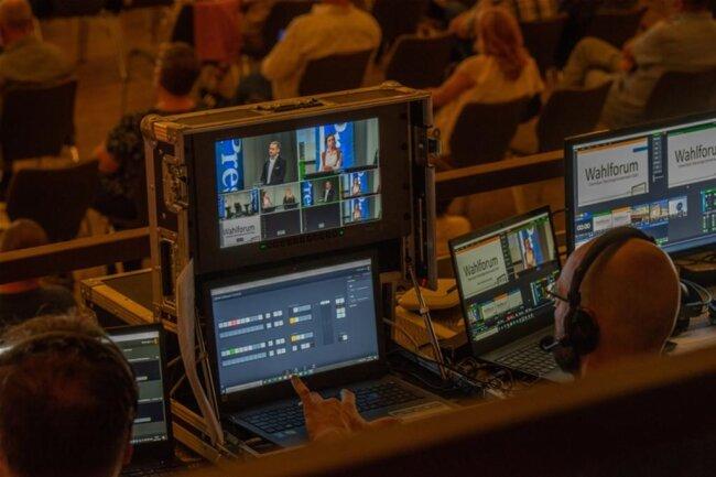 <p>Das Forum wurde per Livestream im Netz übertragen.</p>