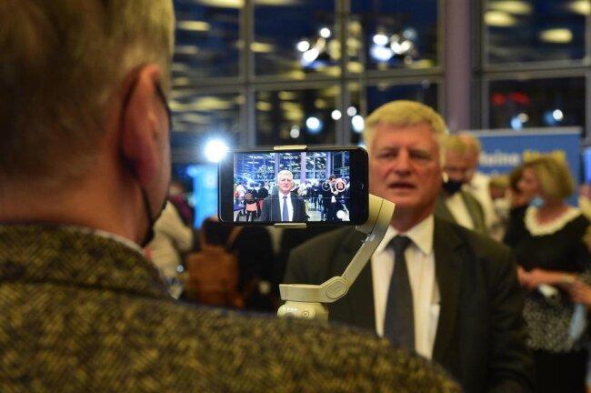 <p>Ulrich Oehme (AfD) holte 12,2 Prozent der Stimmen.</p>