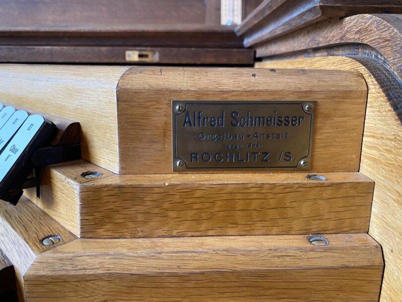 <p>Die Orgel in der Rochlitzer Kunigundenkirche hat der Rochlitzer Alfred Schmeisser gebaut.</p>