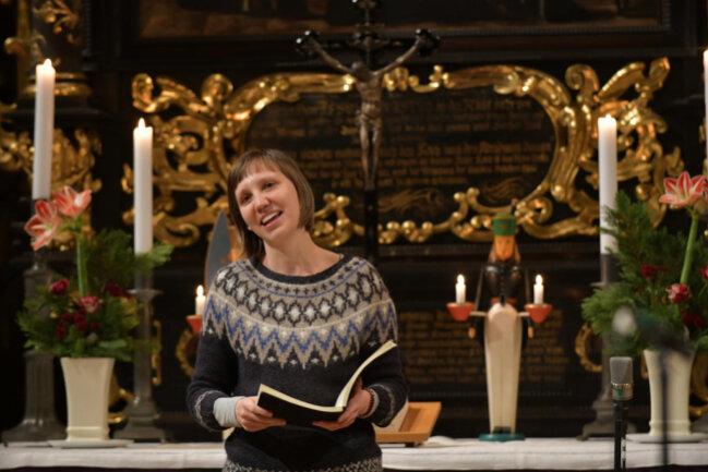 <p>Publikum in der Kirche gab es keines. Dafür wurde das Konzert live ins Internet übertragen.</p>