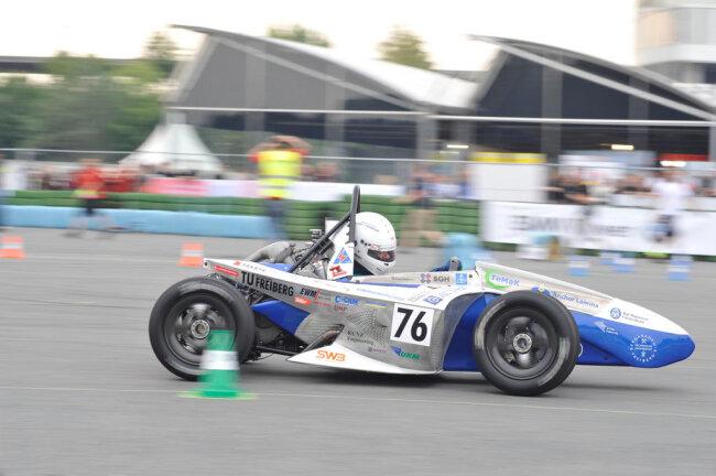 <p>RT 03: Erstes erfolgreiches Endurance bei der Formula Student Germany.</p>