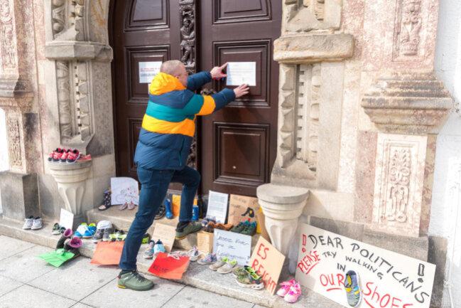 <p>Marienbergs Oberbürgermeister André Heinrich unterstützt die Aktion ausdrücklich.</p>