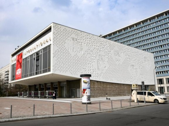 Das Kino International in der Karl-Marx-Allee in Berlin-Mitte.