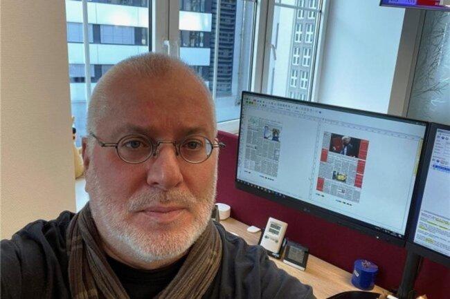 """<p>Heiko Hößler, der gebürtige Chemnitzer hat in Leipzig Journalistik und Journalismusgeschichte studiert und war schon währenddessen eng mit der """"Freien Presse"""" verbunden. Nach dem Abschluss wurde er Redakteur bei der Zeitung – zunächst in den Lokalredaktionen Freiberg und Chemnitz; danach war er in den Ressorts Sachsen, Nachrichten, Politik &amp; Wirtschaft tätig. Seit einigen Jahren arbeitet er im Newsdesk. Er kennt alle Tücken des Redaktionssystems.</p>"""