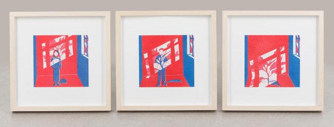 """<p>""""Komorebi"""" - Digital Art von Maite Oswald (25) aus Fichtelberg</p>"""