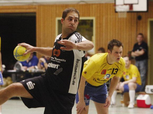 <p>Jesko Vogel spielte viele Jahre Handball, unter anderem beim BSV Limbach.</p>