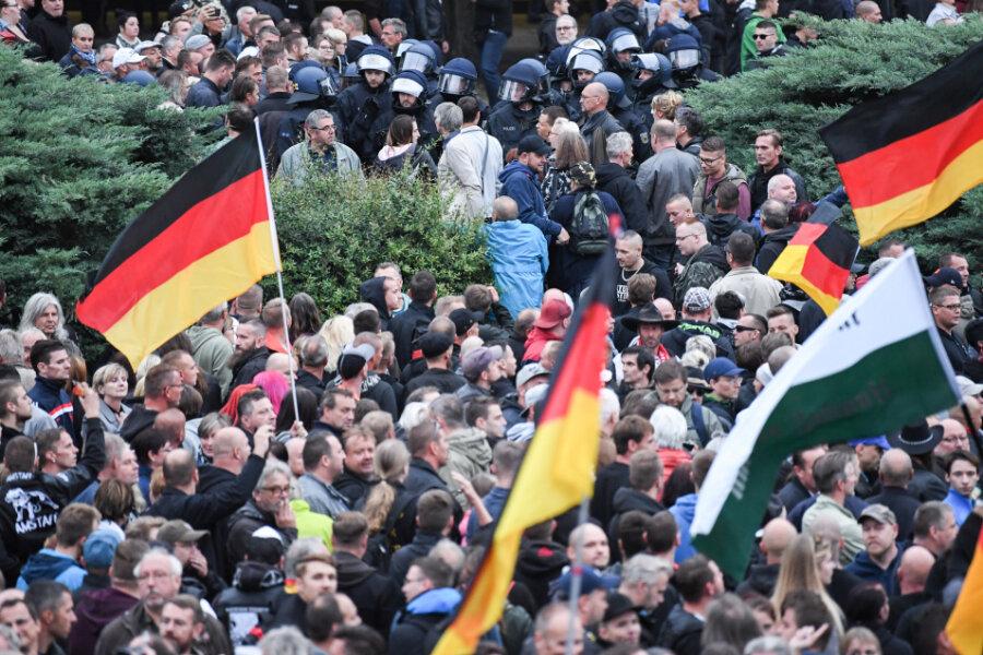 Nicht rechter als der Rest von Ostdeutschland?