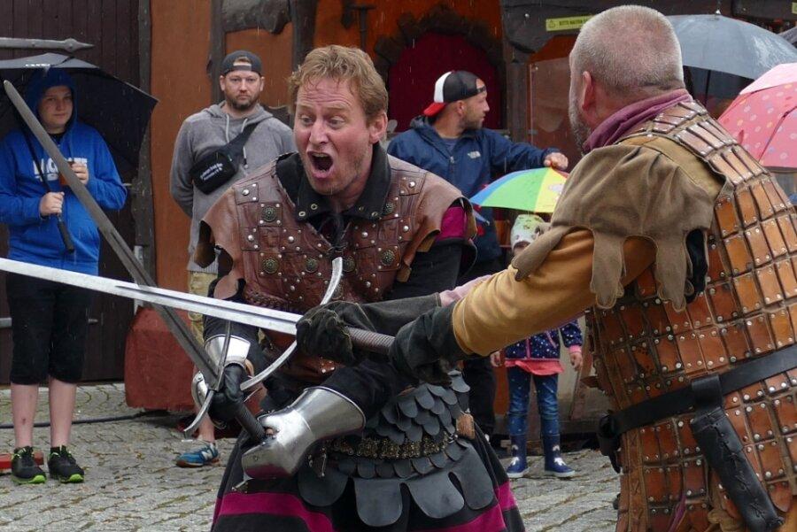Ritter locken viele Gäste an