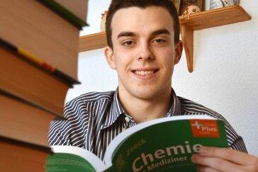 Der sportbegeisterte Tim Sternberg aus Geringswalde ist froh, in Ungarn studieren zu können.