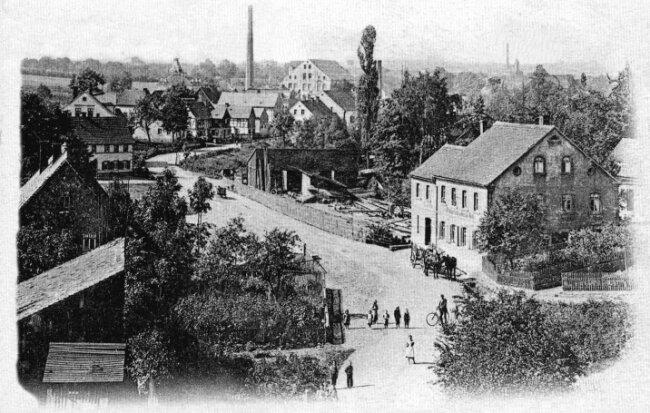 Ansichtskarte von 1902.