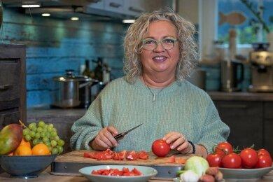 Viel Gemüse und eine Ernährungsumstellung helfen Regine Thomas dabei, ihre Blutzuckerwerte in den Griff zu bekommen.
