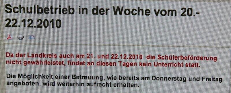 """<p class=""""artikelinhalt"""">Unterrichtsausfall: Wie viele Schulen hat auch das Lessing Gymnasium in Hohenstein-Ernstthal auf der Internetseite aktuell informiert. </p>"""