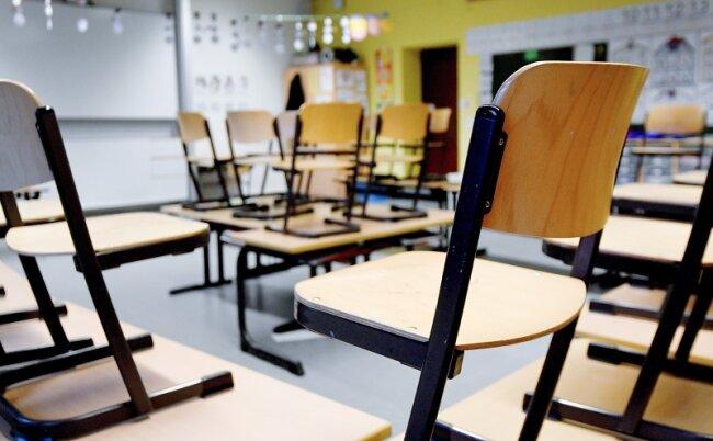 In Meerane schließt auch die Oberschule bis zum Beginn der Herbstferien am 19. Oktober.
