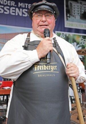 Populär sind seine Bierführungen: Braumeister Michael alias Thomas Mielenz.