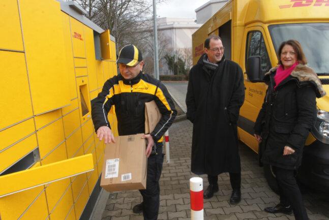 pakete empfangen packstation