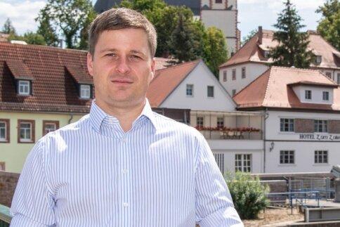 André Wolf lebt gerne in Penig. 2008 zog er mit seiner damaligen Freundin und heutigen Ehefrau in der Muldestadt zusammen.