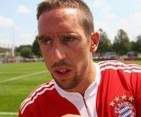 Franck Ribery beim Münchner Trainingsauftakt