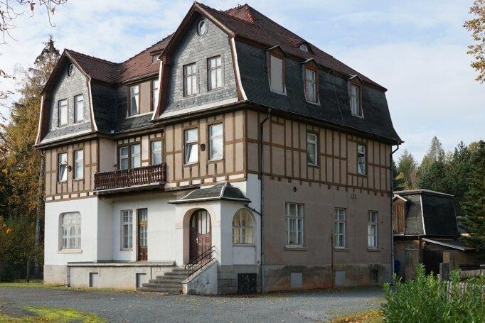 Das Gebäude sieht noch aus wie einst.