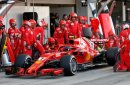 Nur Räikkönen glänzte in Rot