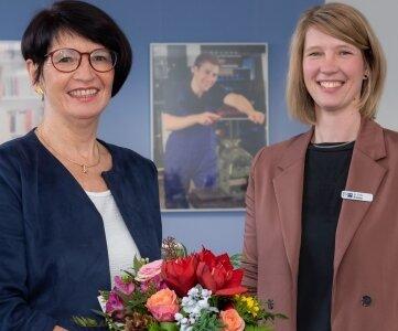 Annette Schwandtke wurde am Freitag offiziell als mittelsächsische IHK-Chefin verabschiedet. Ab Januar ist Cindy Krause Geschäftsführerin der Kammer.