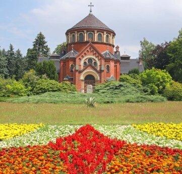 Der Werdauer Friedhof ist auch eine beliebte Parkanlage.