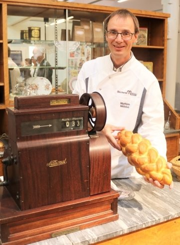 Auf Initiative von Mathias Möbius wurde das Bäckerei-Museum eingerichtet.
