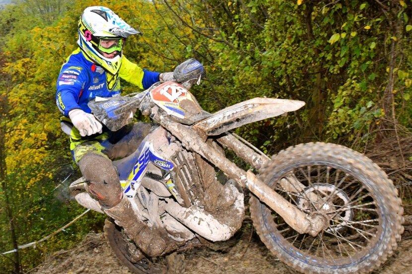 Mit seinem besten Saisonergebnis (Platz 2) schob sich der Geringswalder Luca Fischeder noch auf den dritten Gesamtrang der Championatswertung.