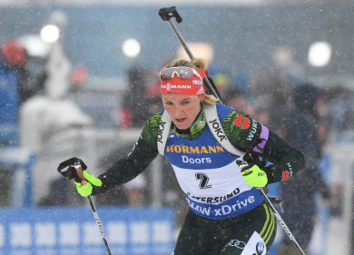 Denise Herrmann aus Deutschland.