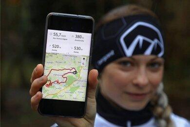 Isabel Bochmann sammelt die Kilometerleistungen für die LSV-Erdumrundung.