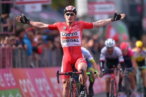 Greipel gewann die erste Etappe der Tour of Britain