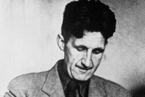 Ein undatiertes Archivfoto von George Orwell.