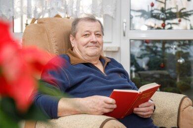 Volkmar Franz lebt seit Ostern im Betreuten Wohnen in Geyer. Eine große Umstellung für ihn, die durch Fürsorge erleichtert wird.