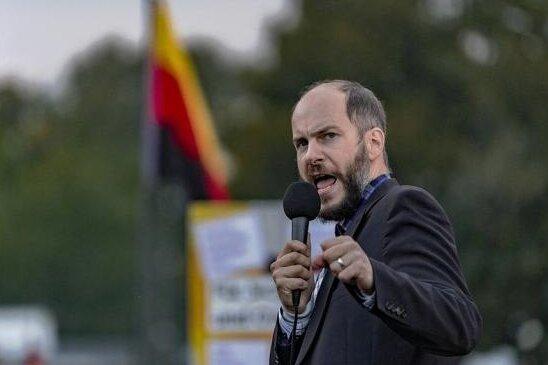 Martin Kohlmann führt Pro Chemnitz an. Nun steht die Vereinigung im Fokus der Verfassungsschützer.