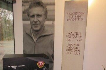 Denkmal für den Ex-Dynamo-Trainer in Dresden.