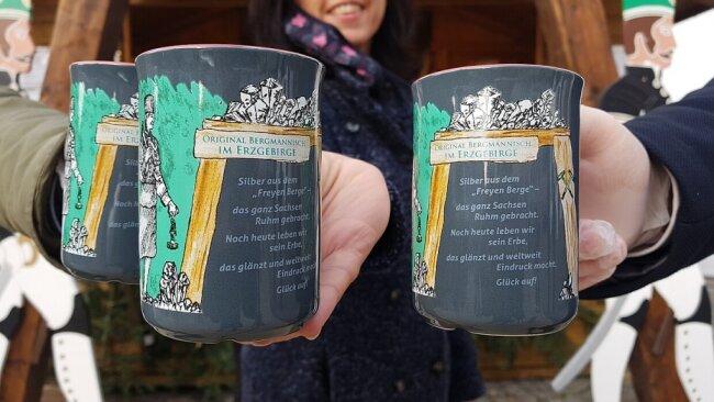 Freiberg hat seine Christmarkt-Tasse vorgestellt.
