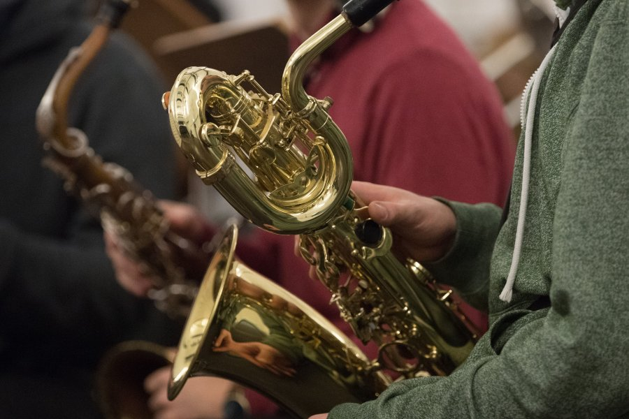 Zu kalt und zu nass: City-Jazz wird zum Kneipenfest