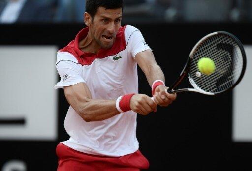 Novak Djokovic steht gegen Nadal im Halbfinale von Rom