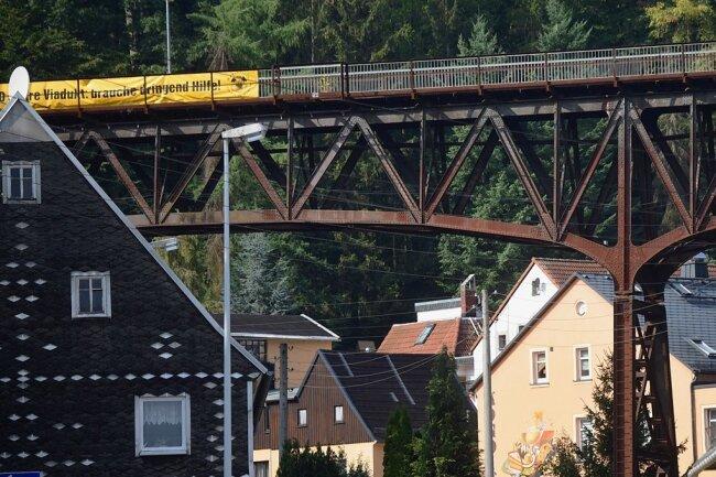 Nicht nur Kosmetik: Das Viadukt wird bis 2022 saniert.