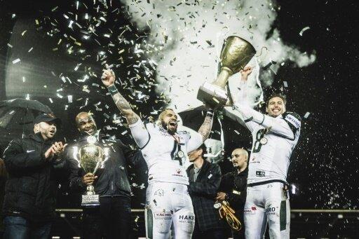 Schwäbisch Hall Unicorns gewinnen den German Bowl