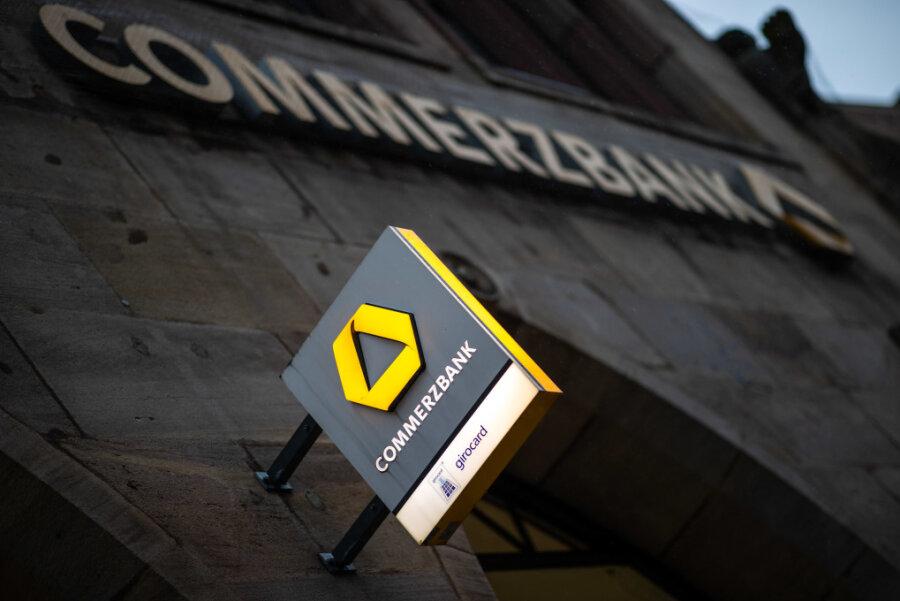 Commerzbank schließt fast die Hälfte ihrer Filialen in Südwestsachsen