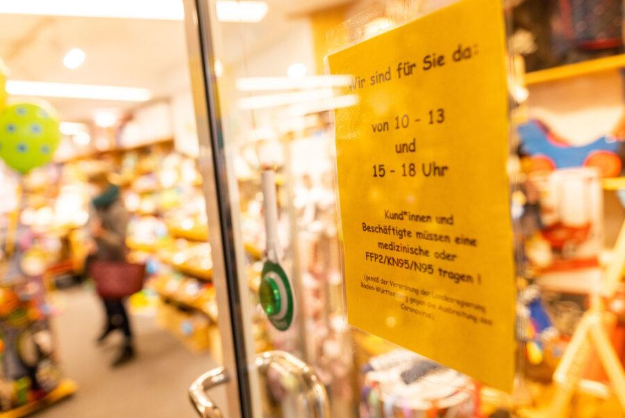 Einzelhandel im Vogtland darf ab Freitag für Einkäufe mit Termin öffnen