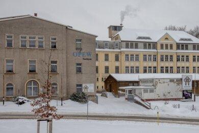 Auf dem OPEW-Gelände in Annaberg-Buchholz soll ein Nahversorgungszentrum entstehen. Ein Investor dafür steht parat.