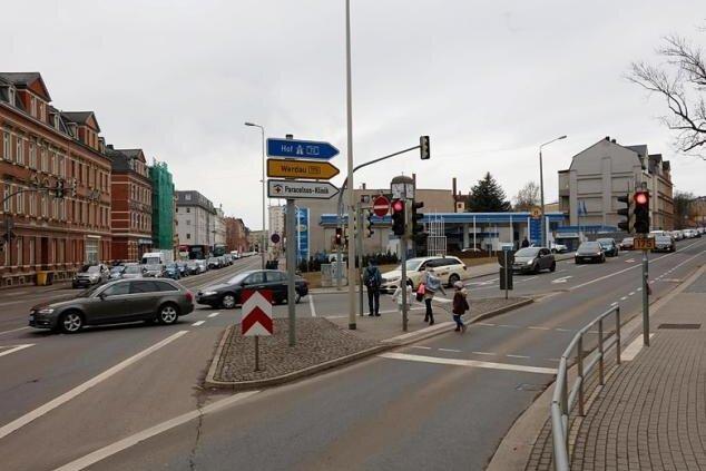 Ab Freitagnachmittag führt der Abzweig rechts wieder direkt nach Werdau.