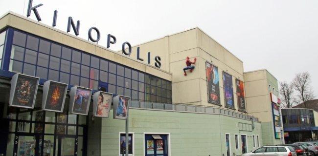 Das Kinopolis in Freiberg